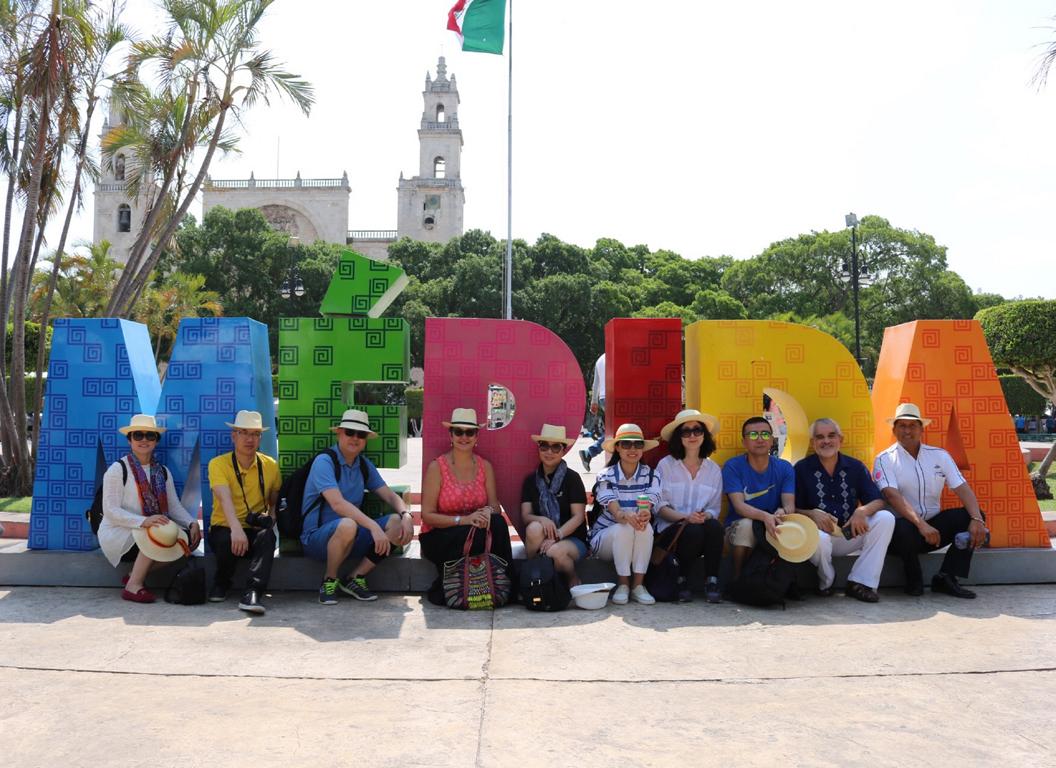 Mérida, en los ojos del turismo chino