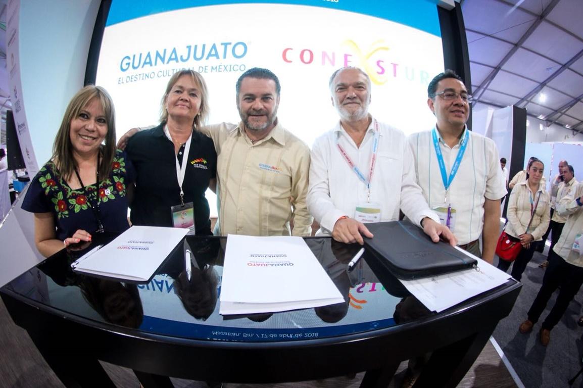 Guanajuato firma convenio con bestday pricetravel y conexstur for Fuera de convenio 2018