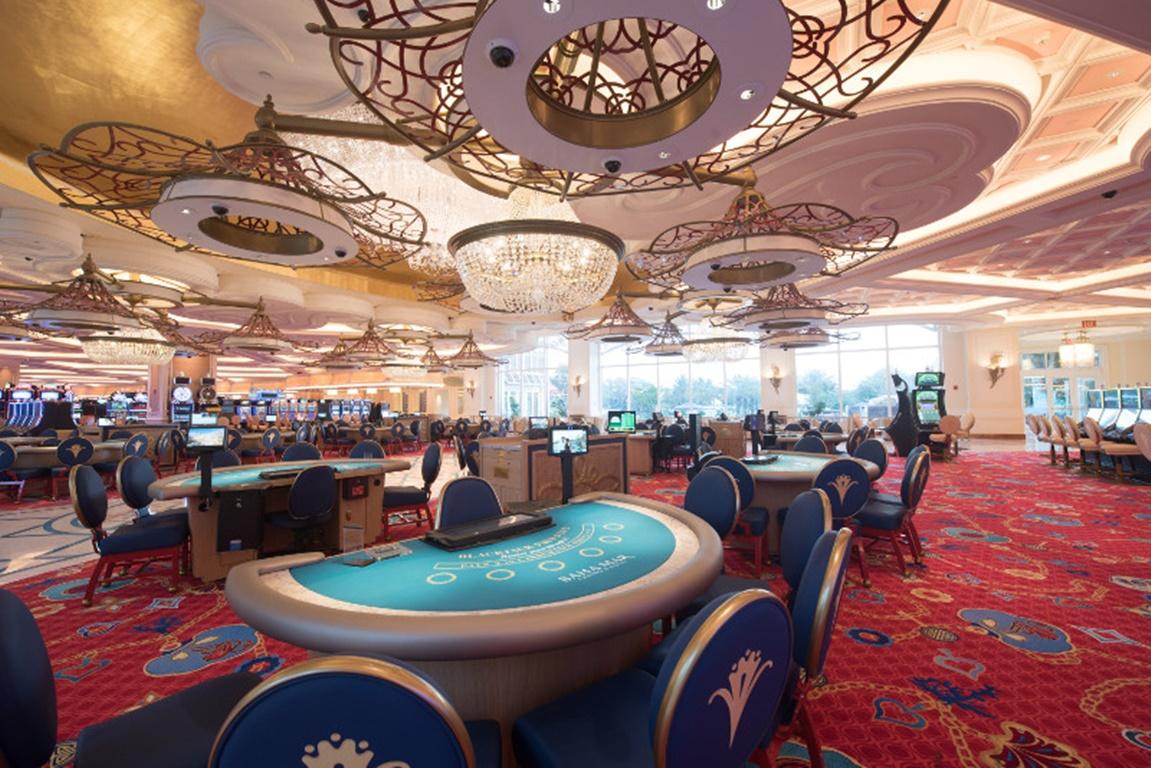 ambientes de un casino