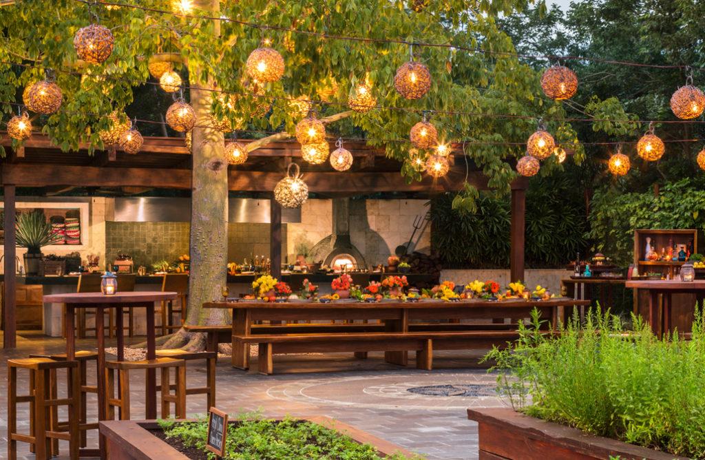 La Ceiba Garden & Kitchen, Rosewood Mayakoba. Foto: especial.