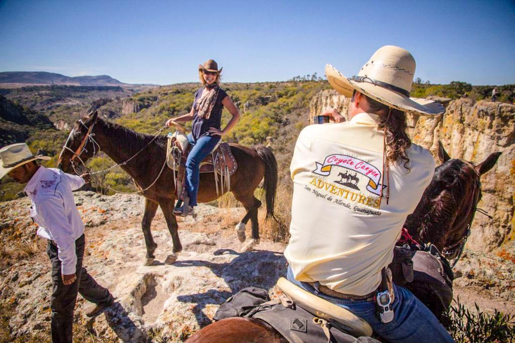 """Vive la """"Aventura Romántica Deluxe"""" de Coyote Canyon Adventures en San  Miguel de Allende - Living And Travel"""